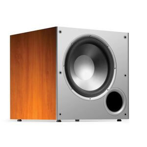 Polk Audio Monitor Series PSW10 10-Inch Powered Subwoofer (Single, Cherry)