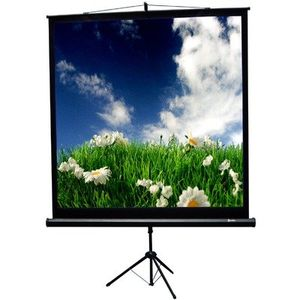 "TriMaxx Tripod Screen Square (1:1) Format Screen Size: 50""x50"""