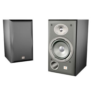 JBL Northridge E30 2-Way 6-Inch Bookshelf Speakers, Pair (Black Ash)