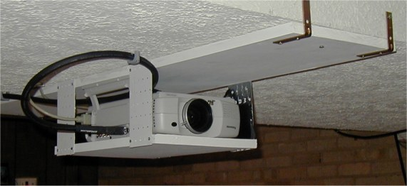 Diy Screen Amp Ceiling Mount For Panasonic Pt L711xu Avs