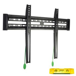 "VideoSecu Ultra Slim TV Wall Mount for most 30""-55"" Plasma LED LCD TV Flat Panel Screen with Free 6"" 3-Axis Magnetic Bubble Level - Low Profile Mounting Bracket A36"