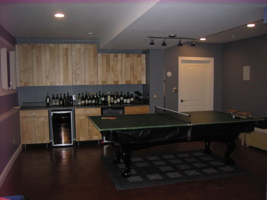 Bar and Table Tennis top