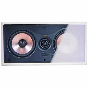 "NXG Technology NX-W5.2-LCR-P Pro Dual 5.25"" 120-Watt Center Channel In-Wall 2-Way Speaker With Pivoting Tweeter (each)"