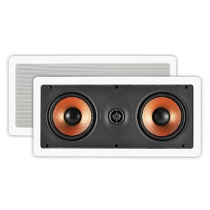 OSD Audio IW545 High Definition Pro Series In-Wall Center Channel LCR Speaker (Off-White, 1)