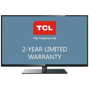 TCL LE55FHDF3300ZTA 55-Inch 1080p 240Hz LED HDTV with 2-Year Warranty, Black
