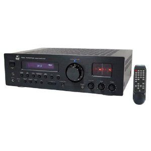 Pyle Home PT990A 1000 Watt AM/FM Multi Source Digital Receiver with Vacuum Tube Preamplifier (USB/MP3 Inputs, Remote Supports iPod Control)