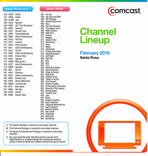 Tv Guide Hdtv Channels