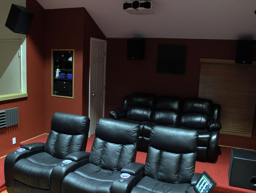 Completed Home Theater build.