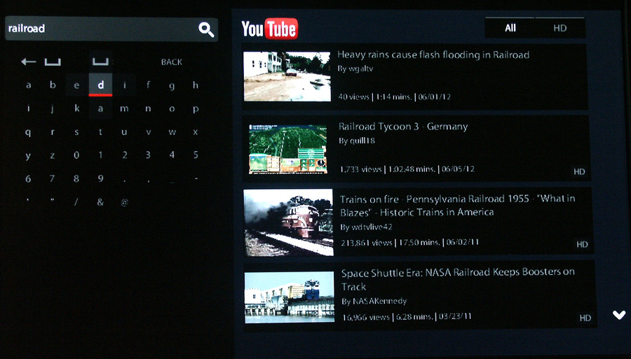 Remote-Net-U Tube search results.JPG