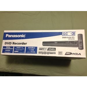 Panasonic DMR-EH59 250GB HDD Multizone DVD Recorder - PAL