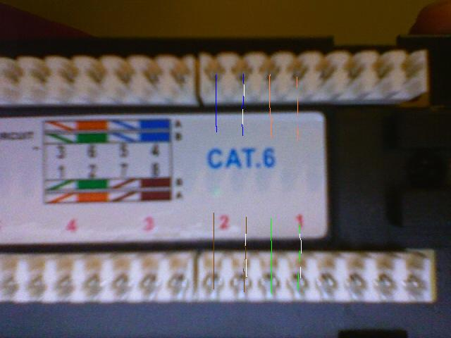 cat6 patch panel wiring help avs forum home theater ll