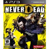 Neverdead Playstation3 Game KONAMI