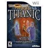 Titanic: Mysteries of the Deep Wii Game Activision