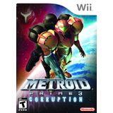 Metroid Prime 3: Corruption Wii Game Nintendo