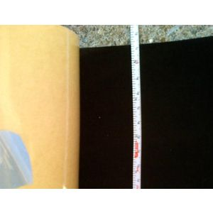 "4.5"" wide Black Velvet Projection Screen Border Tape (make a border with this)"