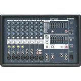 Yamaha EMX312 980 Watt Powered Mixer Professional System with 12&quot; Speakers and Floor Monitor Speaker