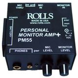 Rolls Personal Monitor Amp Battery Optional - Rolls PM55