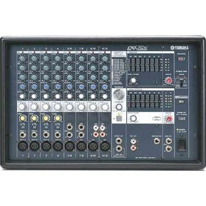 "Yamaha EMX312 980 Watt Powered Mixer Professional System with 12"" Speakers and Floor Monitor Speaker"