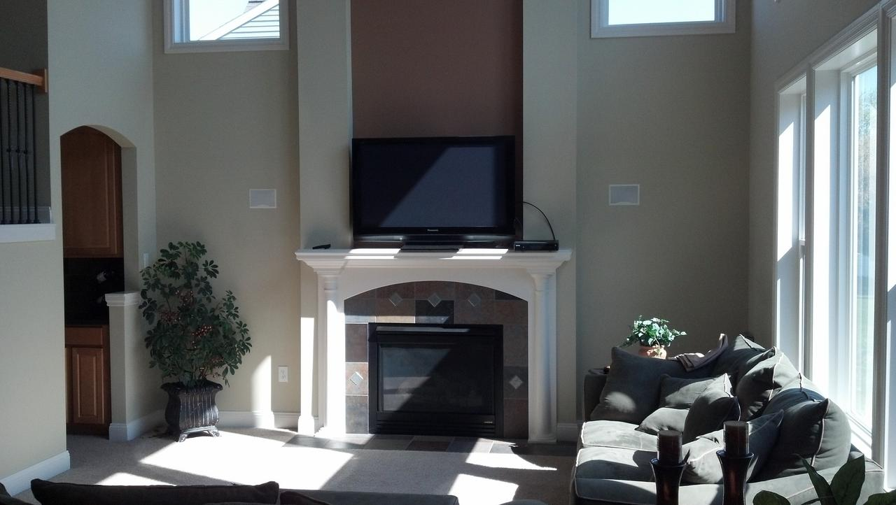 component placement above fireplace avs forum home theater