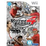 Virtua Tennis 4 Wii Game SEGA