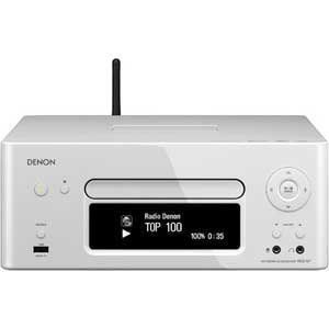 DENON NetworkCD Receiver White RCD-N7W 100V 50-60Hz (Japanese Import)