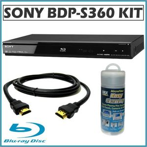 Sony BDP-S360 1080p Blu-ray Disc Player + Accessory Kit