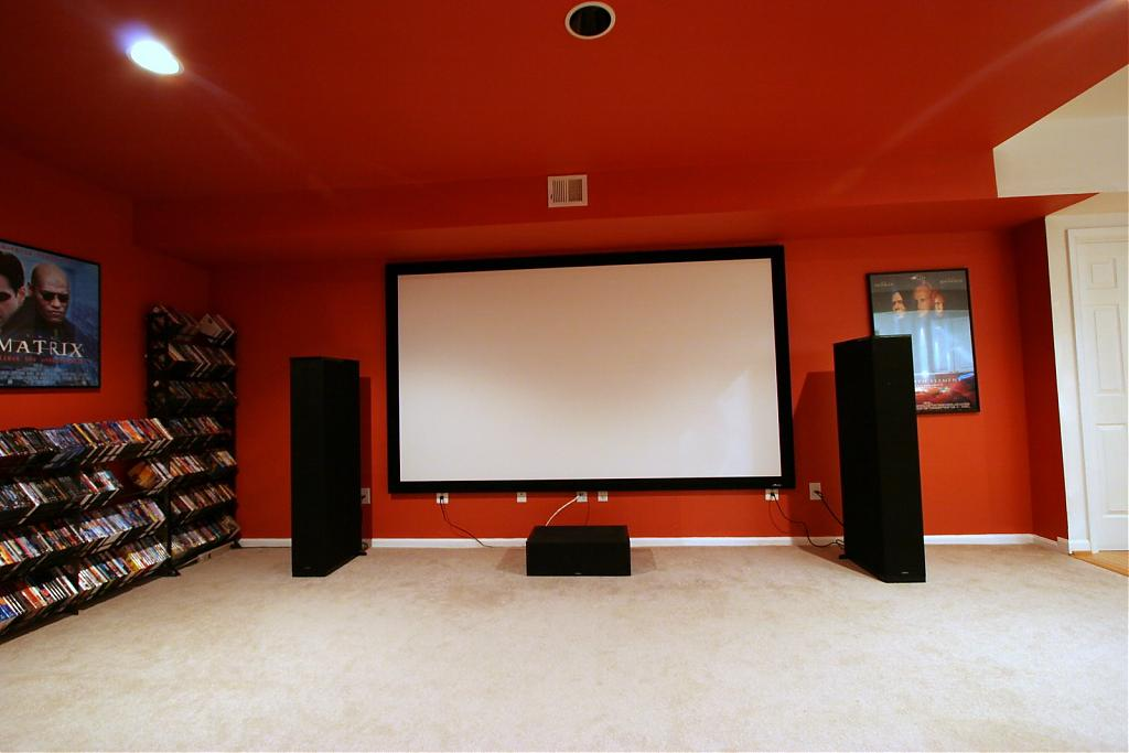 Home Theater Projection Photo