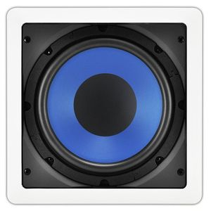 OSD Audio IWS8 Custom Series In-Wall Passive Subwoofer, White