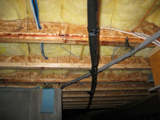 Hanging Drywall From Engineered Joists In Basement