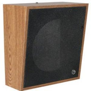"Atlas Sound 417-8WD 8"" Wood Baffle Slope-Front"