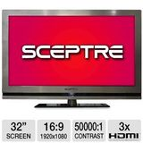 Sceptre E320GV-FHD 31.5-Inches 1080p LCD TV - Nickel