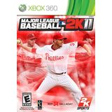 Major League Baseball 2k11 Xbox 360 Game 2K SPORTS
