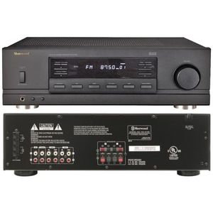 Sherwood 105Wx2 Remote Home Stereo Receiver - Model#: RX-4105