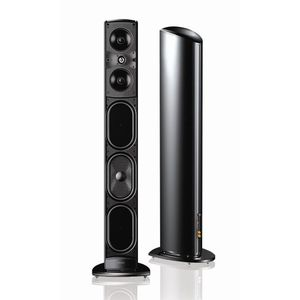 Definitive Technology Mythos ST 120v Supertower Speaker (Single, Black)