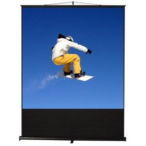 "100"" Clarity Floor Rise Screen 4:3 Matte in White"