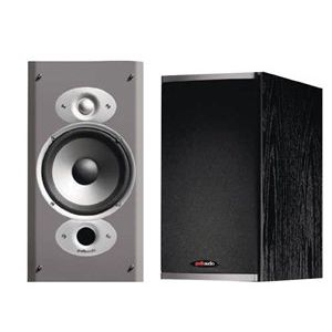 Polk Audio RTi6 High Performance Bookshelf Speakers (Pair, Black)