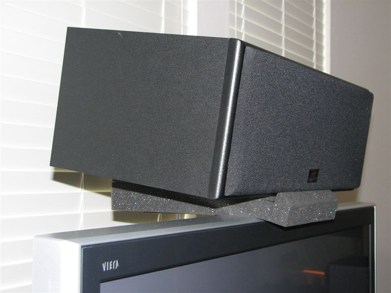 Center Channel Mounting Option Avs Forum Home Theater