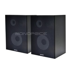 Monoprice 8 inch 3-Way Bookshelf Speakers