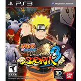Naruto Shippuden: Ultimate Ninja Storm 3 Playstation3 Game Namco