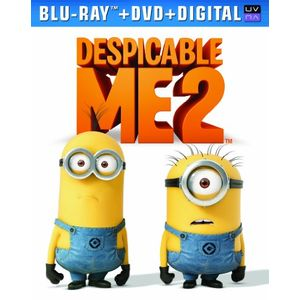 Despicable Me 2 (Blu-ray + DVD + Digital Copy + UltraViolet)