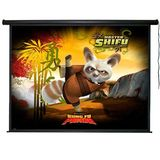 "Aosom 120"" Diagonal 105""x60"" Electric Hdtv Motorized Projector Screen"