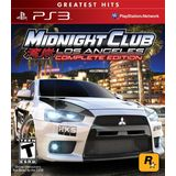Midnight Club: Los Angeles Complete Edtion Playstation3 Game ROCKSTAR