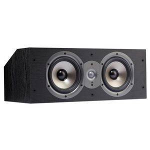 Polk Audio Monitor 25C Two-Way Center Channel Speaker (Single, Black)