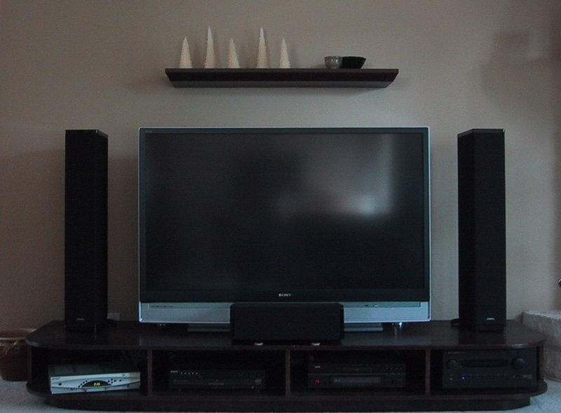 how to set up a rear projection tv