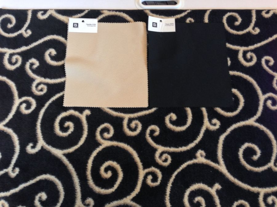 carpet and fabric choices
