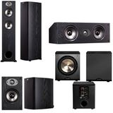 Polk Audio TSX330T 5.1 Home Theater System (Black)