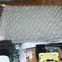 packing material above HDD 02.JPG