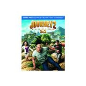 Journey 2: The Mysterious Island (DVD + 3D + UV Digital Copy + Blu-ray)