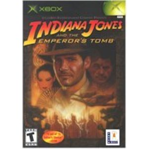 INDIANA JONES AND THE EMPERORS TOMB XBOX