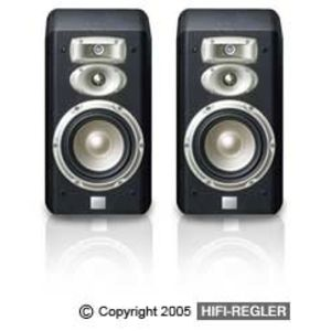 JBL L830 3-Way 6-Inch Bookshelf Loudspeaker (Pair, Black)